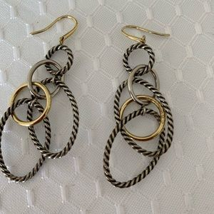 David Yurman mobile earrings